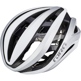 Giro Aether MIPS Casque, mat white/silver